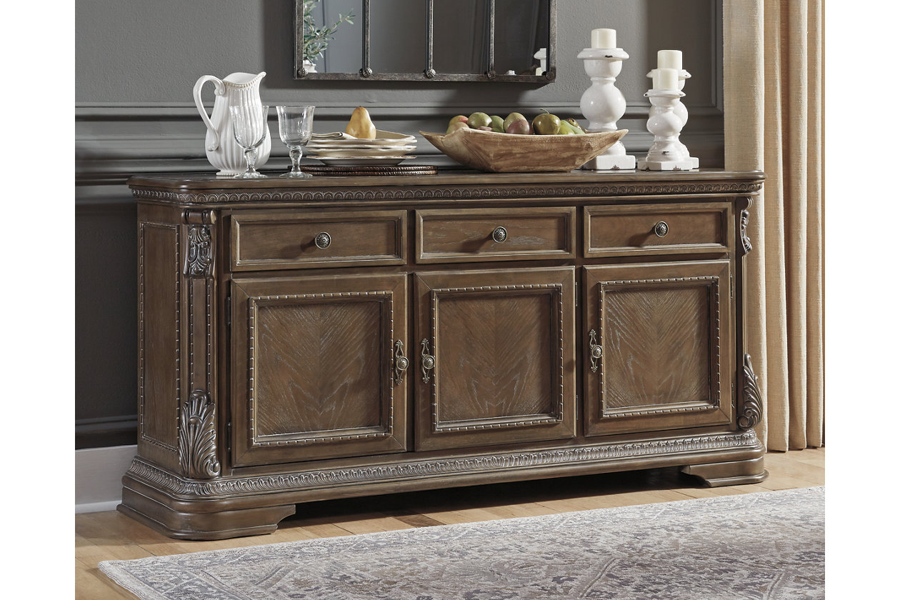 Charmond Dining Room Buffet | Ashley Furniture HomeStore