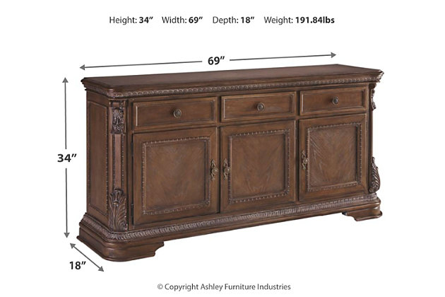 Charmond Dining Room Buffet, , large