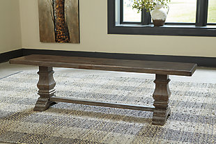 Wyndahl Dining Room Bench, , rollover