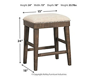 Wyndahl Counter Height Bar Stool, , large