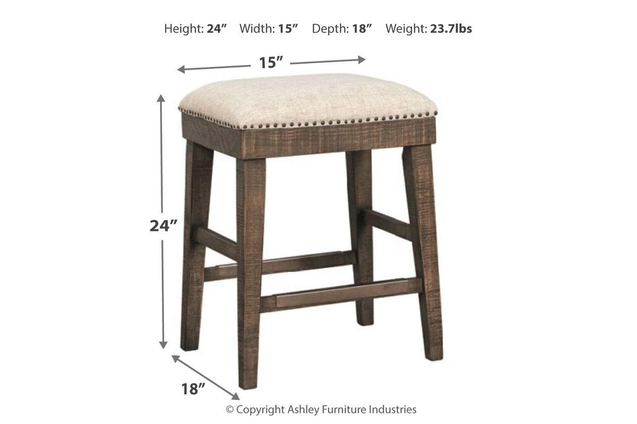 Astounding Wyndahl Counter Height Bar Stool Ashley Furniture Homestore Ncnpc Chair Design For Home Ncnpcorg