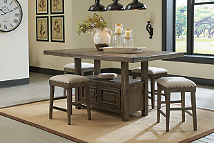Wyndahl Counter Height Dining Room Table, , rollover