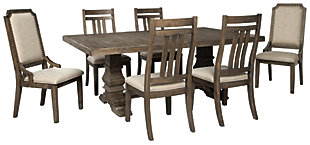 Wyndahl Dining Table and 6 Chairs, , large