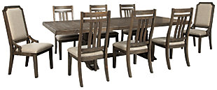 Wyndahl Dining Table and 8 Chairs, , large