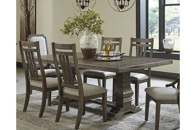Wyndahl Extendable Dining Table, Ashley Dining Room Sets