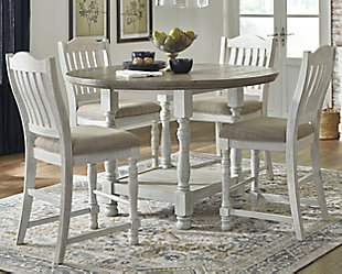 Havalance Counter Height Dining Room Table, , rollover