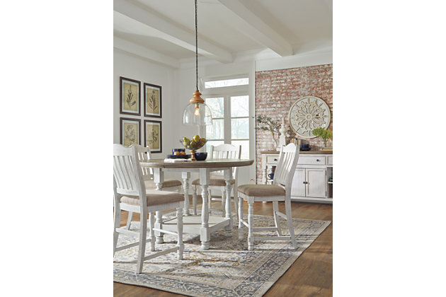 Havalance Counter Height Dining Room Table, , large