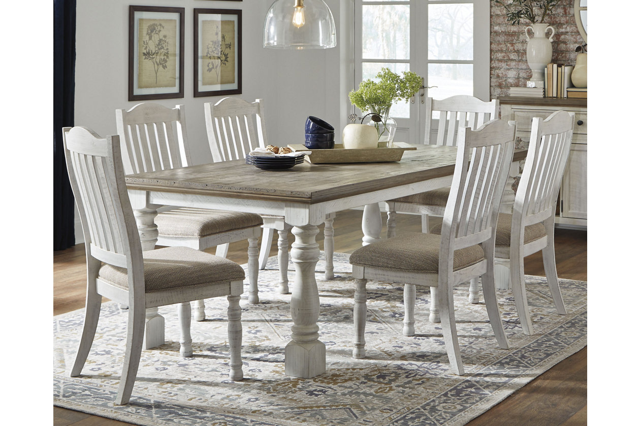 Havalance Dining Table  Ashley Furniture HomeStore