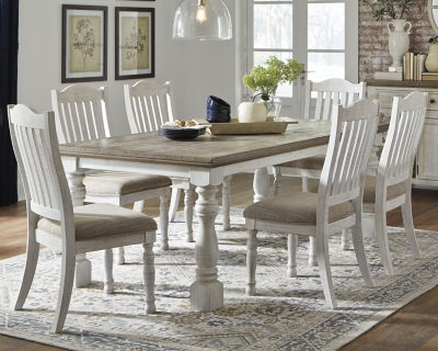 Picture of: Havalance Dining Table And 6 Chairs Set Ashley Furniture Homestore