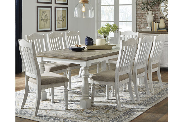 Havalance Dining Table and 8 Chairs, , large