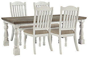 Havalance Dining Table and 4 Chairs, , large