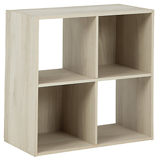 Socalle Four Cube Organizer, Natural, large