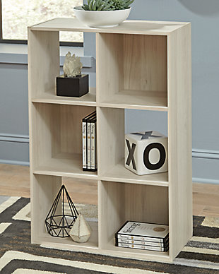 Socalle Six Cube Organizer, Natural, rollover