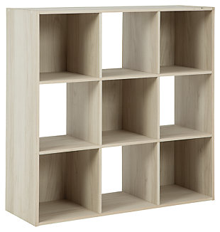 Socalle Nine Cube Organizer, Natural, large