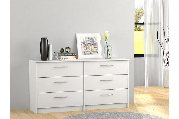 Finch Dresser, White, large