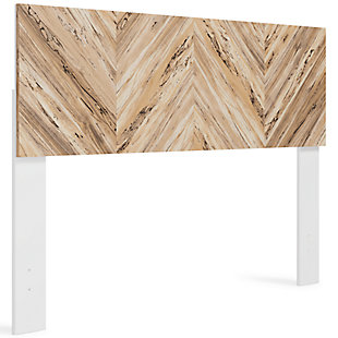 Piperton Queen Panel Headboard, Two-tone, large