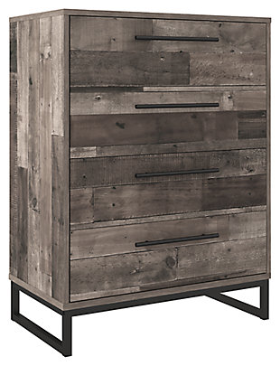 Neilsville Chest of Drawers, Multi Gray, large