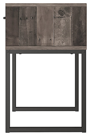 Neilsville Nightstand, Multi Gray, large