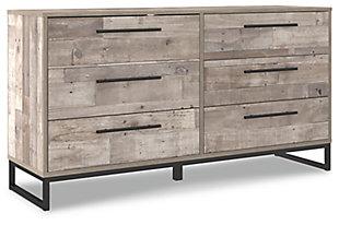 Neilsville Dresser, Whitewash, large