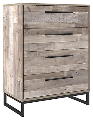 Neilsville Chest of Drawers, Whitewash, large