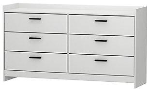 Central Park Dresser, White, large