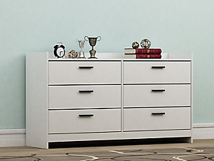 Central Park Dresser, White, rollover