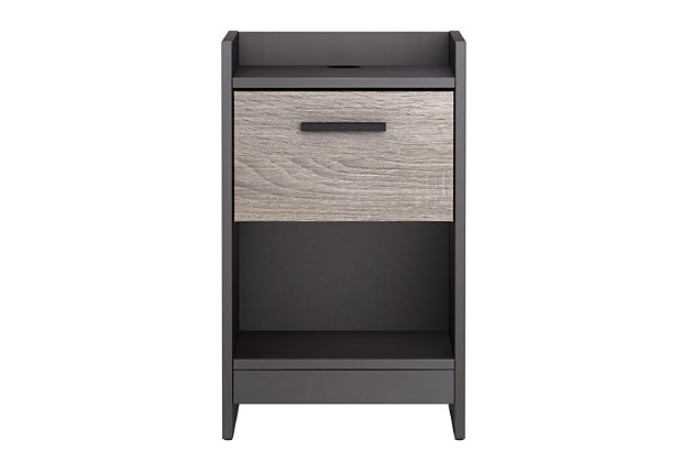 Central Park Nightstand, Two-tone, large