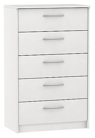 Finch Chest of Drawers, White, large