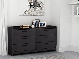 Central Park Dresser, Black, rollover