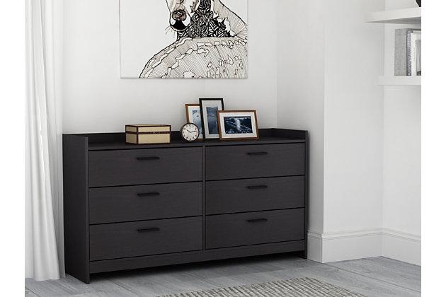 Central Park Dresser, Black, large
