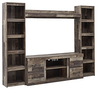 Derekson 4-Piece Entertainment Center, , large