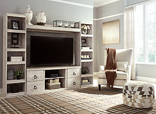 Willowton 4-Piece Entertainment Center, , rollover