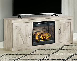 "Bellaby 63"" TV Stand with Electric Fireplace, , rollover"