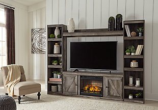 Wynnlow 4-Piece Entertainment Center with Electric Fireplace, , rollover