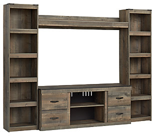 Trinell 4-Piece Entertainment Center, , large