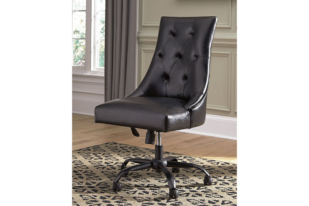 Office Chair Program Home Office Desk Chair by Ashley HomeStore, Black