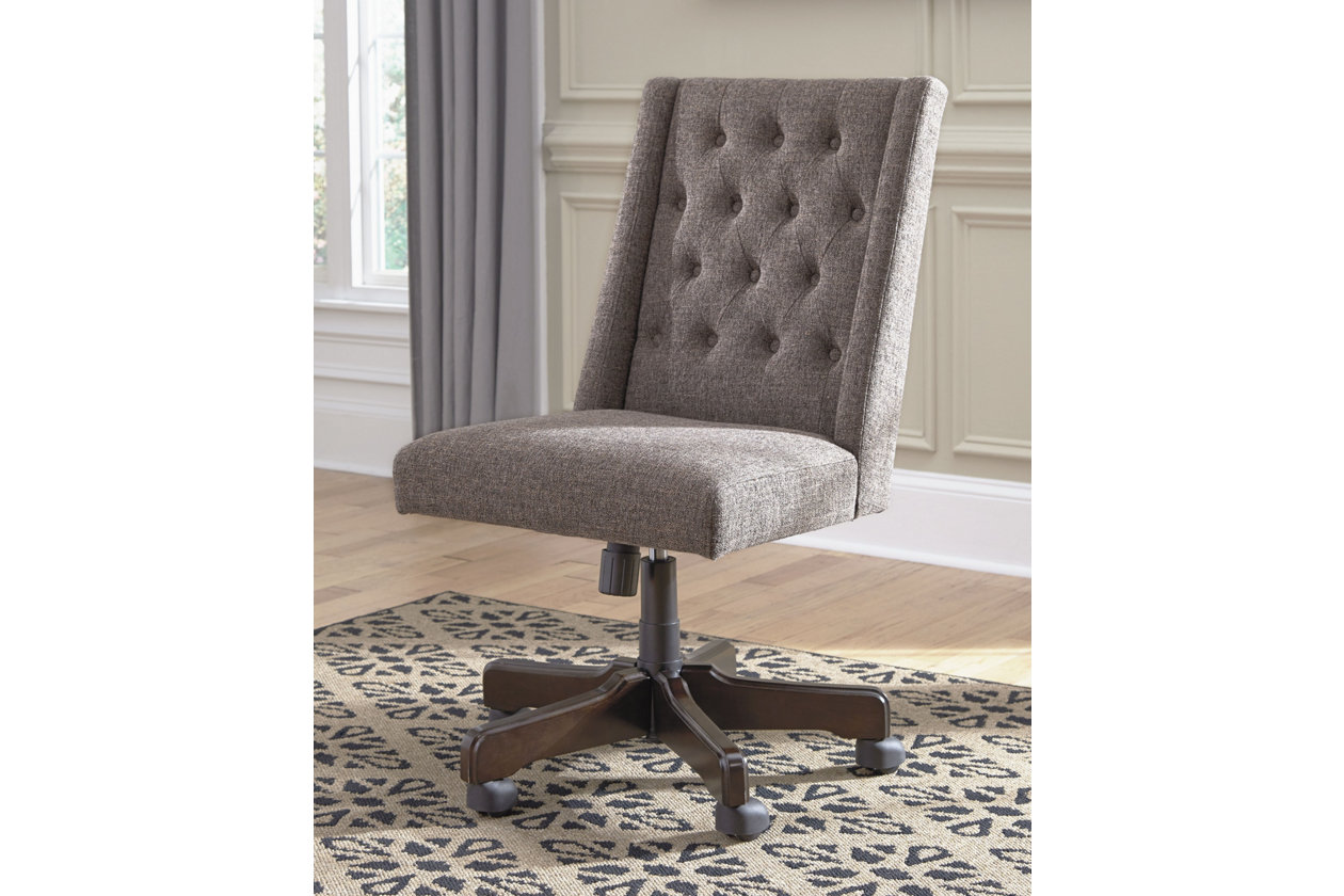 Button Tufted Home Office Desk Chair Ashley Furniture Homestore
