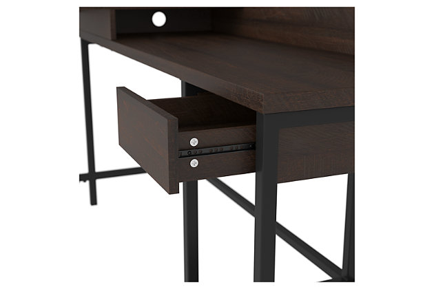 Camiburg Home Office L-Desk with Storage, , large