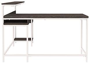 Dorrinson Home Office L-Desk with Storage, , large