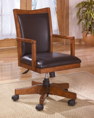 Cheap Home Office Desk Chair Medium Brown Island Product Photo