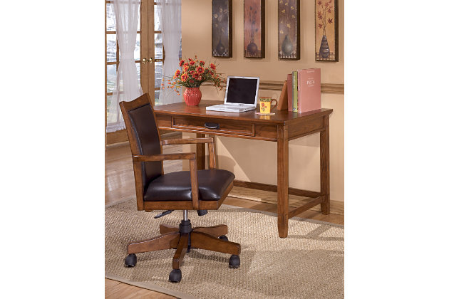example of decorating your home office with this office furniture