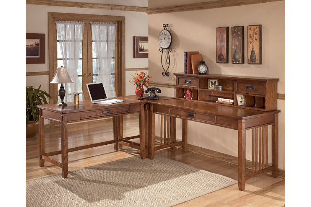cross island 48 home office desk ashley furniture homestore