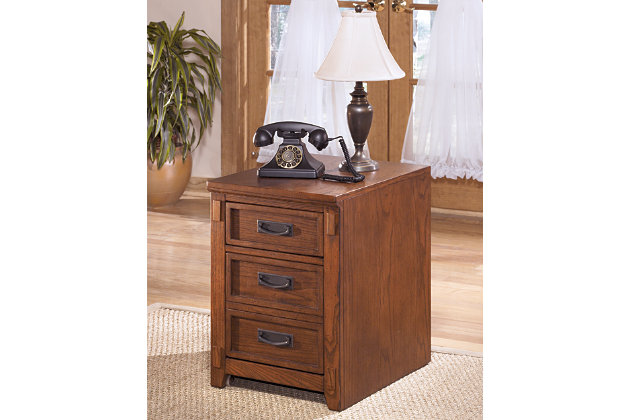 Cross Island File Cabinet by Ashley HomeStore, Brown