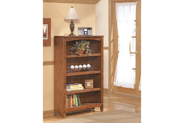 "Cross Island 53"" Bookcase by Ashley HomeStore, Brown"