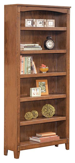 "Cross Island 75"" Bookcase, , large"