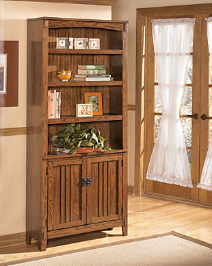 "Cross Island 75"" Bookcase, , large"
