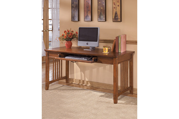 Cross Island 60  Home Office Desk. Desks   Ashley Furniture HomeStore
