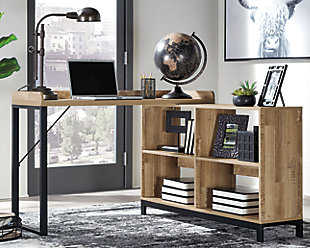 Gerdanet Home Office L-Desk, , rollover