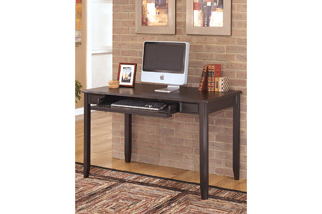 Carlyle Home Office Set by Ashley HomeStore, Black