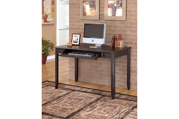 carlyle 48 home office desk ashley furniture home store